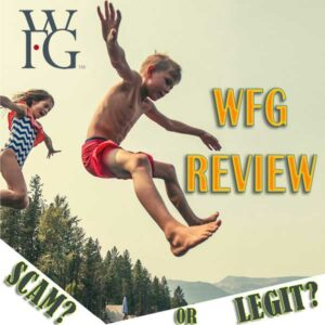 WFG Review - Happy Kids Jumping in Swimsuits