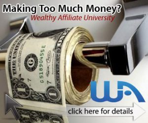 Wealthy Affiliate University - money roll