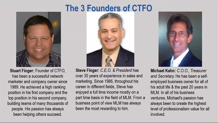 3 Co-founders of CTFO