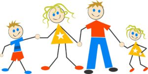 What is Kidazzler featured image - A cartoon picture of a happy family