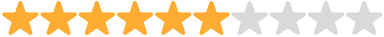 6 stars rating