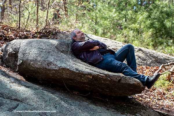 3 Natural Sleep Aids That Work --  Sleeping in Nature.