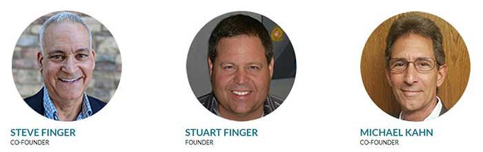 CTFO Review 2020 - Co-Founders  Steve Finger, Stuart Finger, and Michael Kahn.