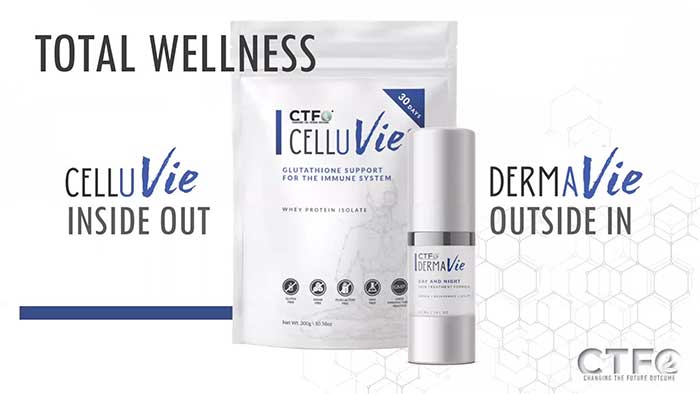 New CTFO Products: CelluVie and DermaVie