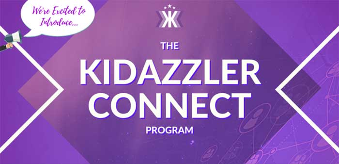 The Kidazzler Connect Program banner